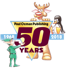 Paul Oxman Publishing - 50 Years: 1968 - 2018.