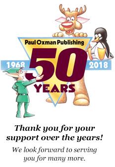 Paul Oxman Publishing Celebrating 50th Anniversary: 1968 - 2018.