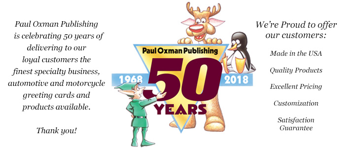 Paul Oxman Publishing Celebrates 50th Anniversary