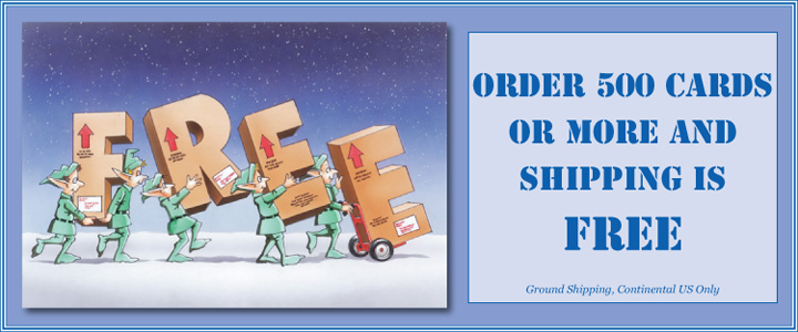 Paul Oxman Publishing Free Shipping on Cards