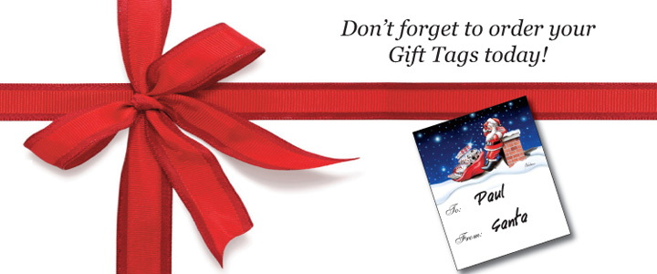 Paul Oxman Publishing Gift Tag