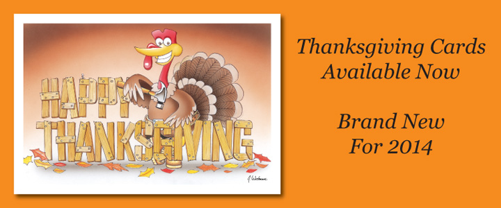 Paul Oxman Publishing Thanksgiving Cards