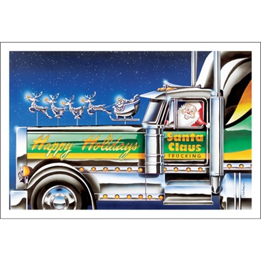 Happy Holidays Trucking