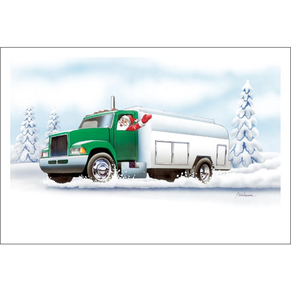 Santa Is Off To Fuel