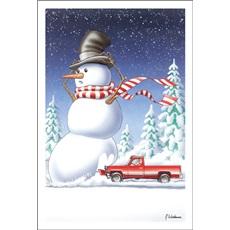 Snow Plow Snowman