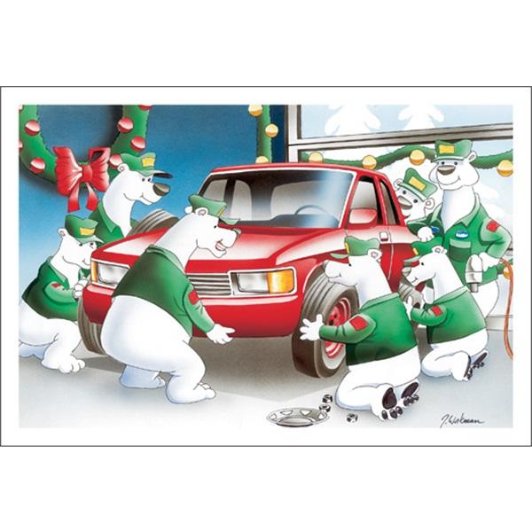 Polar Bear Tire Rotation