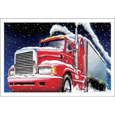 Frosty's Trucking Along