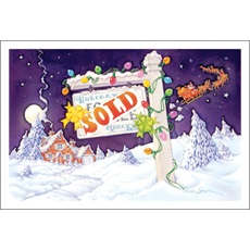 Real estate realtors christmas cards paul oxman publishing sold m4hsunfo