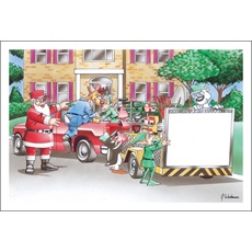 Santa's Yard Maintenance