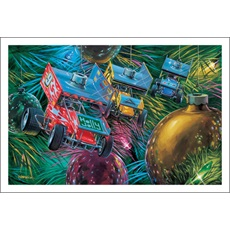 Sprint Car Ornaments