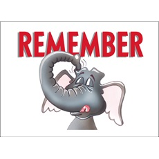 Elephants Always Remember