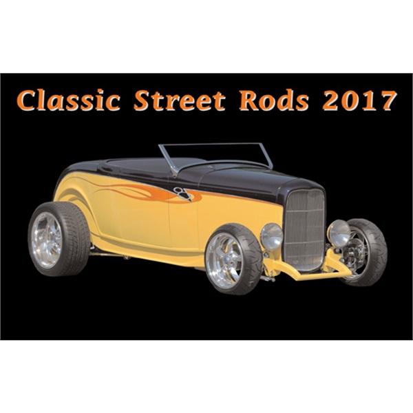 Classic Street Rods 2017 Calendar
