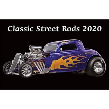 Classic Street Rods 2020 Calendar