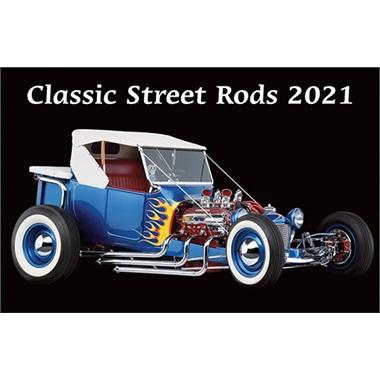 Classic Street Rods 2021 Calendar
