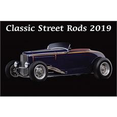 Classic Street Rods 2019 Calendar