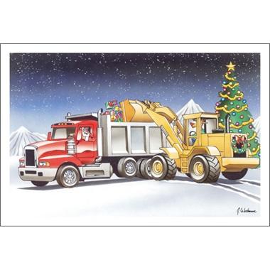 Loader And Dump Truck