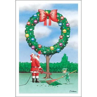 Tree Made Wreath