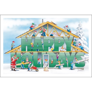 Happy Holidays Building Contractor