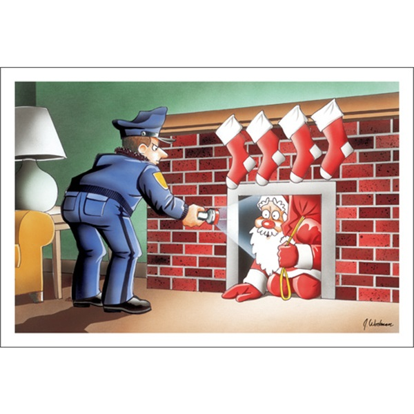 Santa I Thought You Were A Burglar
