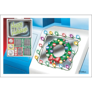 Happy Holidays Machine Shop