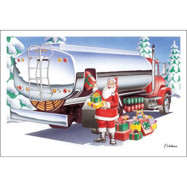 It Holds Fuel And Presents