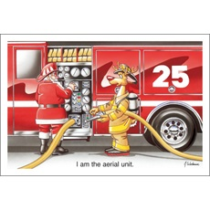 """Fire Truck """"I Am The Aerial Unit"""""""