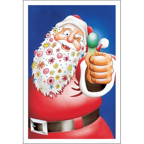 Santa Has A Green Thumb