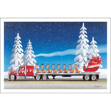 Sleigh On A Flatbed