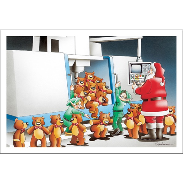Machine Making Teddy Bears
