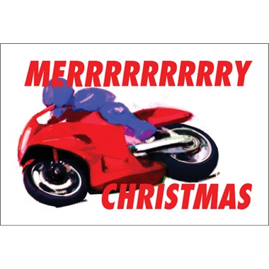 Merry Christmas Grand Prix Bike