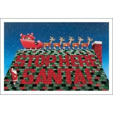 Stop Here Santa Roofing