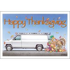 Happy Thanksgiving Van