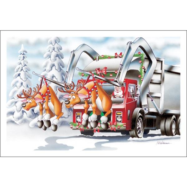 Santa Having Fun