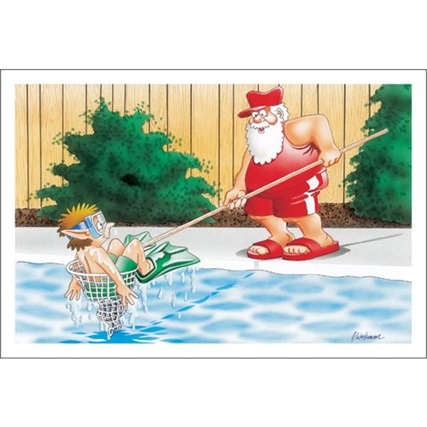 No Worries Santa Has You