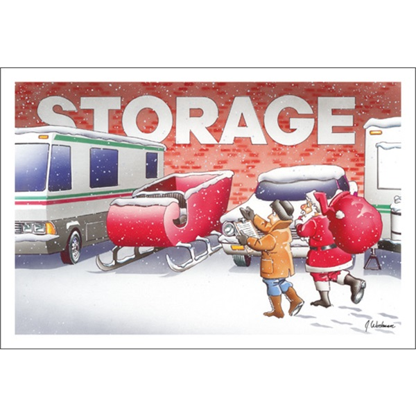 Getting The Sleigh Out Of Storage