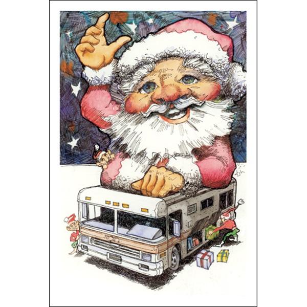 RVing Santa