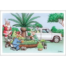 Great Landscaping Idea Santa