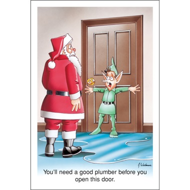 You'll Need A Good Plumber