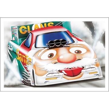 Santa's Funny Car