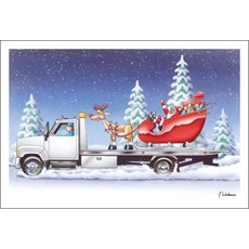 Santa Is Hitching A Ride