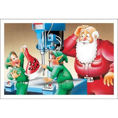 Drill Press Santa's Hat