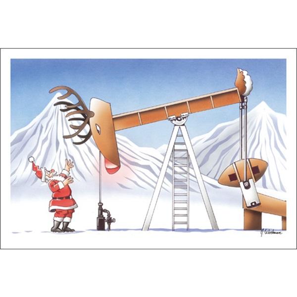 Rudolph The Oil Pump Horse