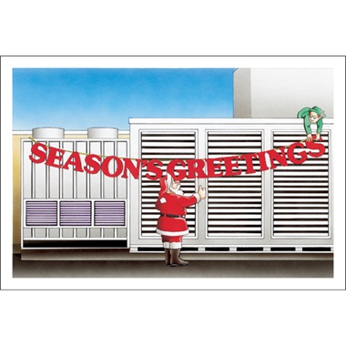 Seasons Greeting A/C Unit