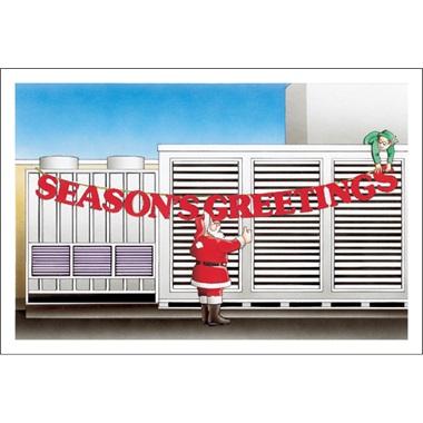 Seasons Greeting A/C Unit