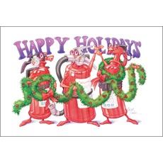 Happy Holidays Fire Extinguishers