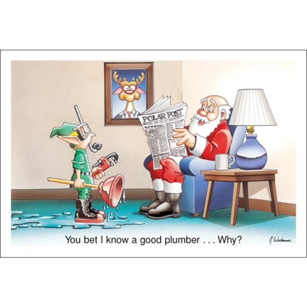 You Bet I Know A Good Plumber…Why?