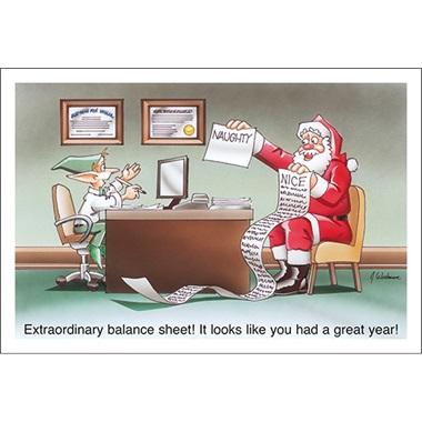 Extraordinary Balance Sheet!