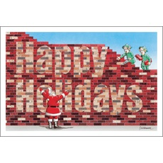 Happy Holidays In Bricks