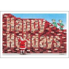Happy Holidays In Bricks