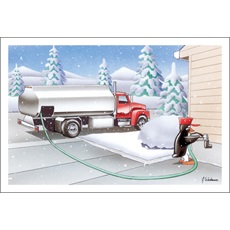 Penguin Delivers Fuel